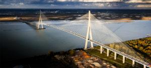 JMETH, expertise et travaux en hauteur - Pont de Normandie